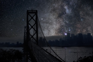 Le ciel de San Francisco, 37° 48' 30'' N