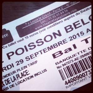 billet poisson belge