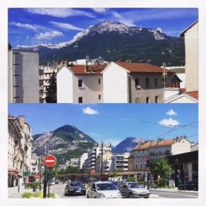 Grenoble et ses reliefs