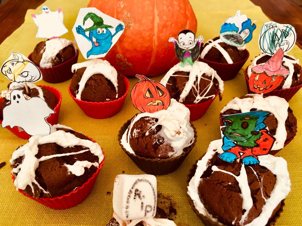 Les cupcakes mortels d'Halloween (et de Mimi)