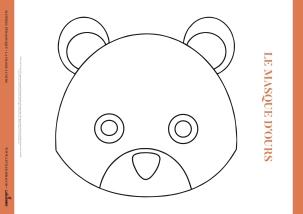Le masque de l'ours